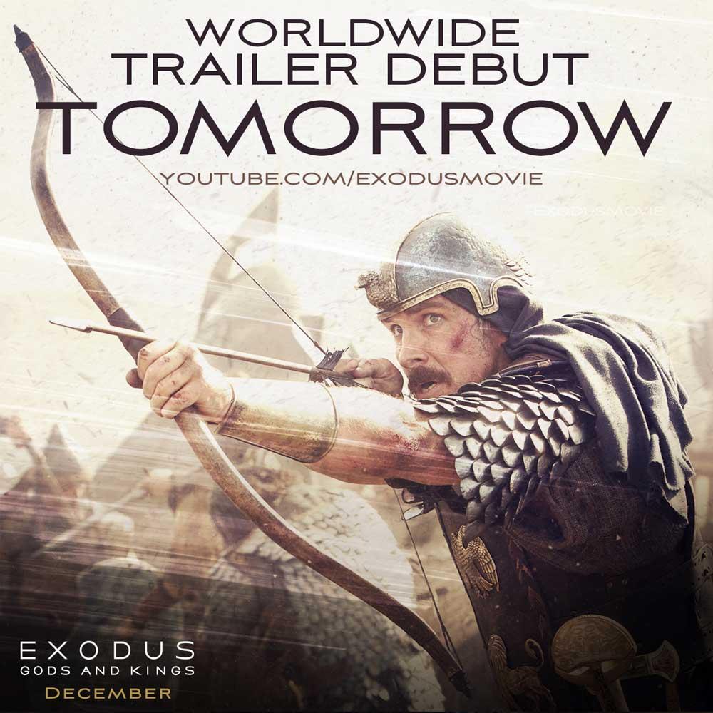 Exodus. Trailer debut posting